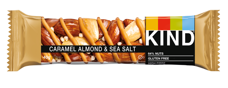 caramel almond and sea salt