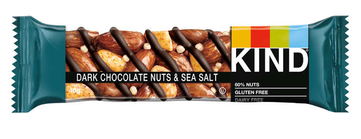 dark chocolate nuts and sea salt