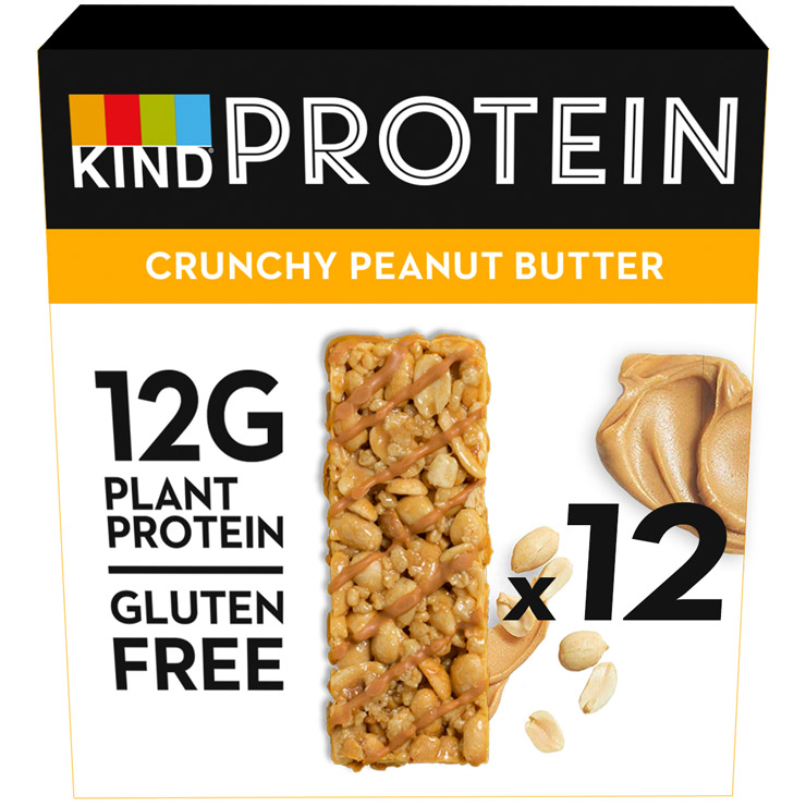 Crunch Peanut Butter Protein 12 Pack