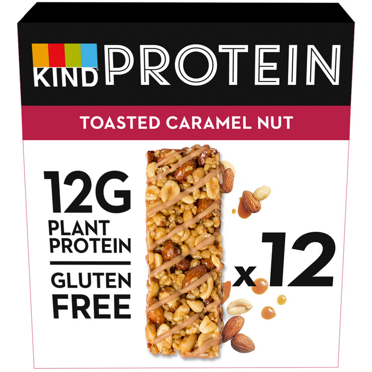 Toasted Caramel Nut Protein Pack