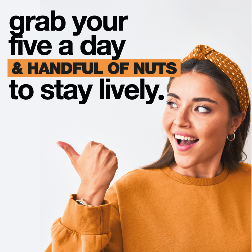 grab your five a day to stay lively